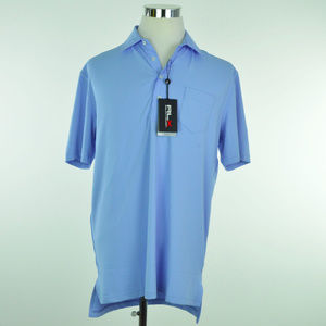 NEW RLX GOLF Ralph Lauren Mens Polo Shirt Sky Blue